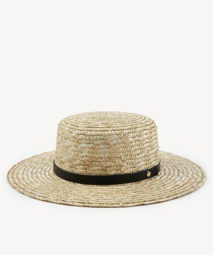 کلاه حصیری زنانه سفید