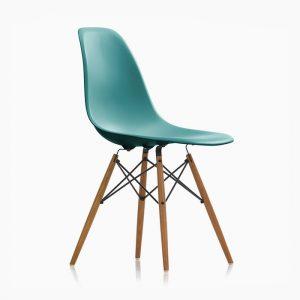 صندلی چهارپایه آبی