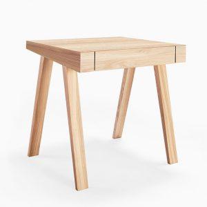 میز تحریر چهارپایه چوبی